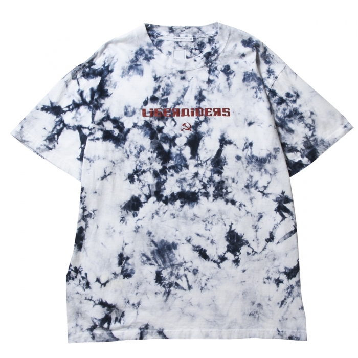 LIBERAIDERS ACID DYED LOGO TEE...