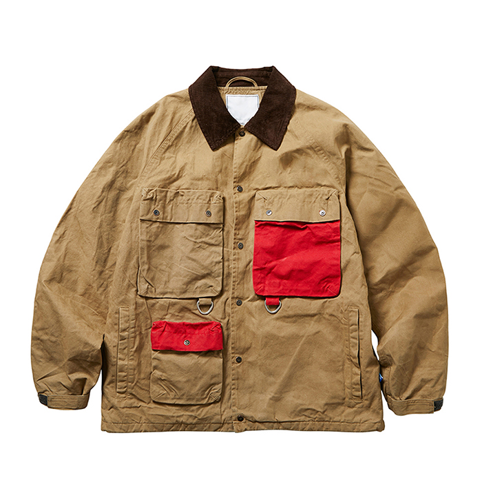 CANVAS HUNTING JACKET