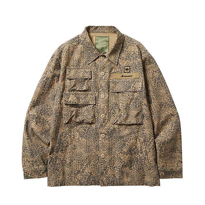 MULTI POCKET FIELD JACKET