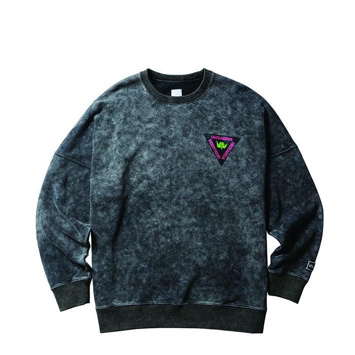 ACID WASH CREWNECK