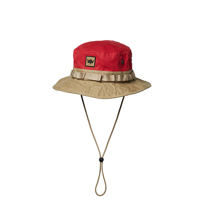WASHED CANVAS JUNGLE HAT