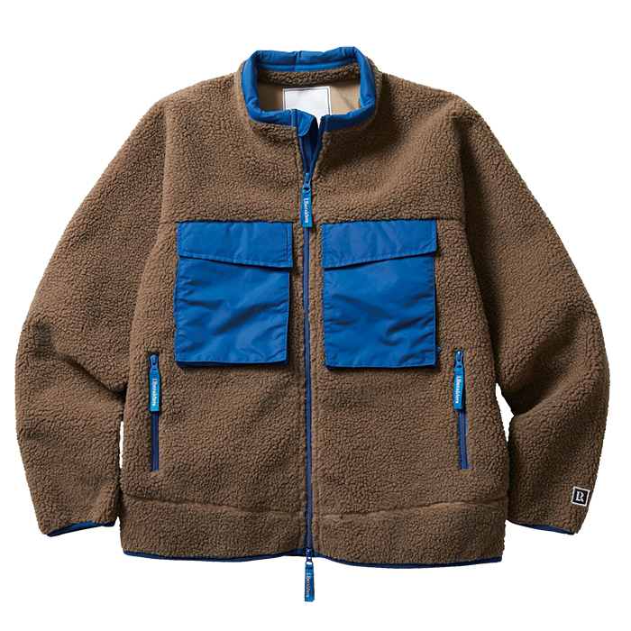 PILE FLEECE JACKET